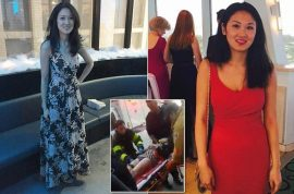 Sophie Yu loses arm and leg after fainting into NYC subway