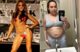 Vicki Perez bikini model: How my brain tumor caused me to grain 40 pounds