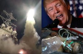 Why Donald Trump bombed Syria explained: forget humanitarian mission