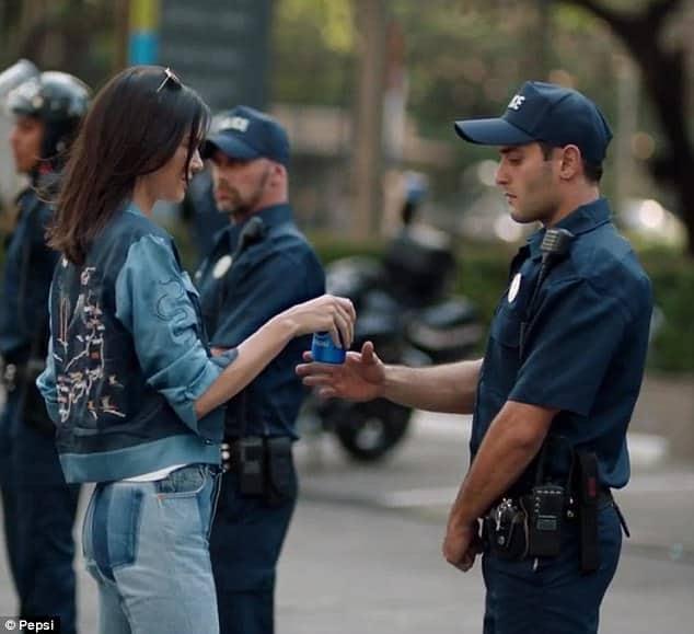 Pepsi protest ad