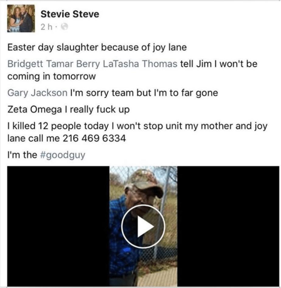 Steve Stephens aka Stevie Steve
