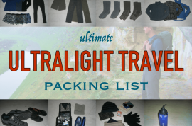 A Guide to Light Packing For A Walking Holiday