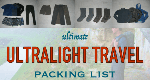 Guide to Light Packing Walking Holiday