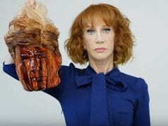 Kathy Griffin Donald Trump beheaded head
