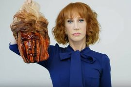 Kathy Griffin Donald Trump beheaded head: Art or terrorism?