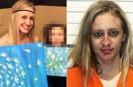 Megan Sloan teacher brings heroin and 40 used needles to school in her purse