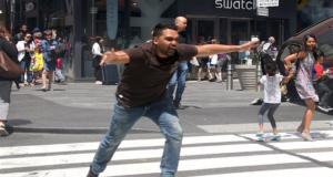 Riichard Rojas Times Square crash