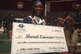Shariah Edwards high school grad accepted by 149 colleges, offered $7m in scholarships