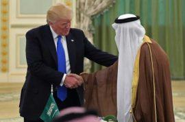 Donald Trump signs $350 Billion blood money Saudi Arabia arms deal