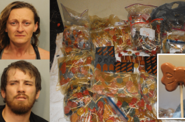 Evonne Mick and David Salinas: Want to try our $1m worth of meth lollipops?