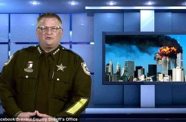 Wayne Ivey Florida sheriff urges citizens to carry guns for imminent war
