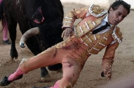 Watch: Ivan Fandino Basque bullfighter gored to death