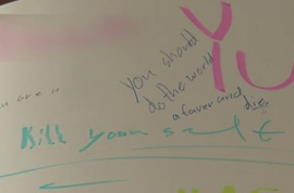 'Kill yourself' Buckley 7th grader receives yearbook messages bullying him to die