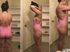 Tori Jenkins bathing suit