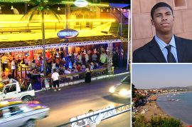 Brass knuckles: Bakari Henderson beaten to death on Greek Island