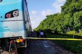 Brandon Weiner and Mary Ann Ortega homeless Florida couple lie on train tracks in suicide pact
