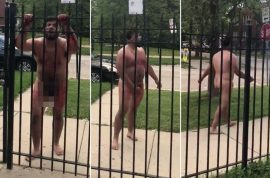 Watch: Chicago man high on acid who cut off his own penis goes awol