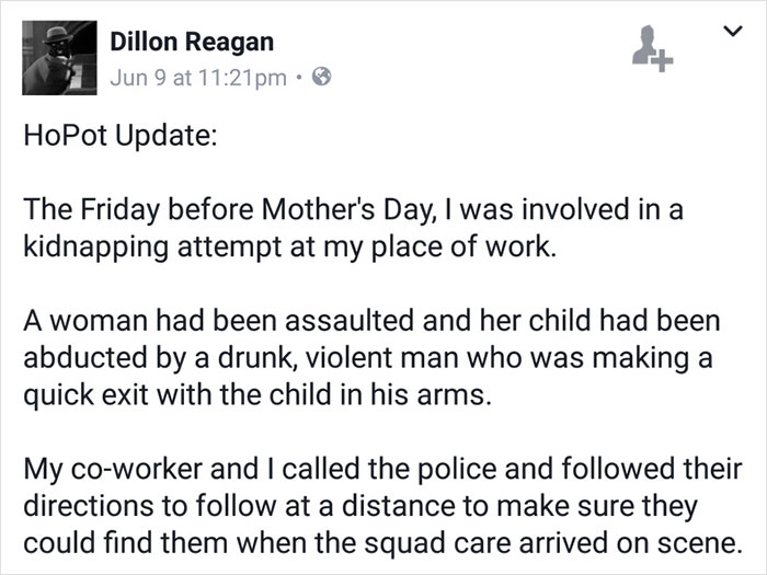 Pictured, recently fired, Portland, Oregon, Dillon Reagan Home Depot employee