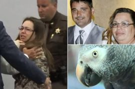 'Don't fxxking shoot me' Glenna Duram guilty of murdering her husband after pet parrot outs her