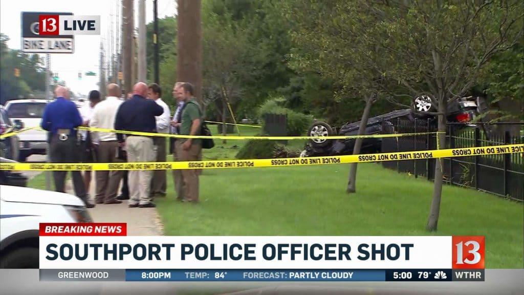 Jason Brown Lt Aaron Allan shooting