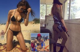 Kim Mellibovsky photos: How an Isreali female soldier became an Instagram star
