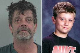 Mark Redwine Colorado dad accused of murdering teen son after finding photos of him in diaper (eating feces)
