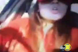 Video: Obdulia Sanchez livestreams fatal car crash kills her sister, 'I don't care'.