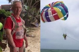 Watch: Roger John Hussey, Aussie tourist plunges to his death parasailing in Thailand