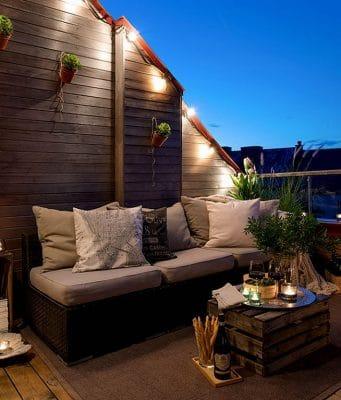 outdoor lighting spaces