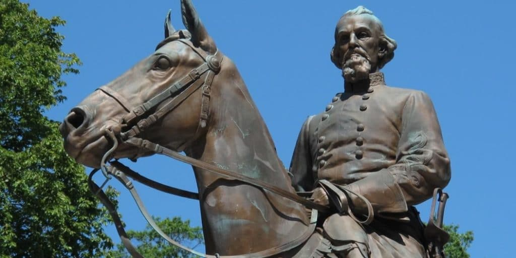 Army bases confederate monuments