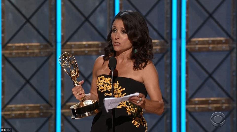 2017 Emmy Awards politicized