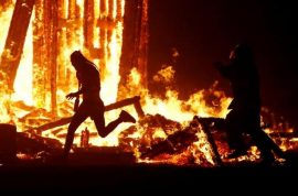 Why? Aaron Joel Mitchell dies running into Burning Man effigy