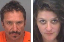 Jeffrey Kernan & Alexandria Rowell: Florida couple arrested after boyfriend performs (amazing) oral sex on girlfriend on crowded beach