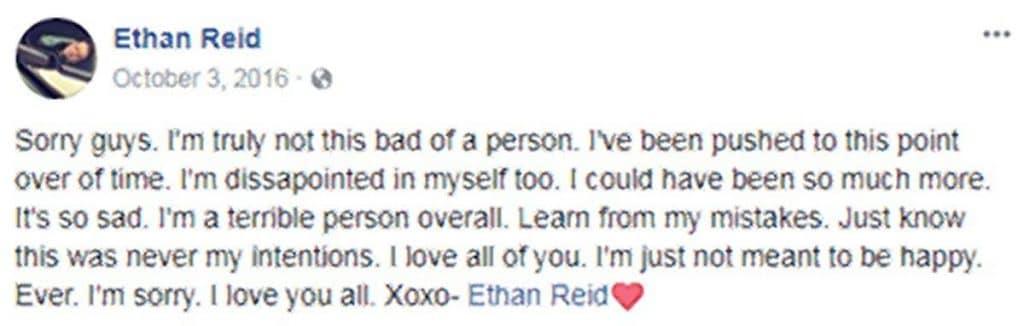 Ethan Reid pleads guilty