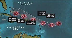 Hurricane Irma category 4
