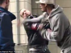 Seattle Nazi punched