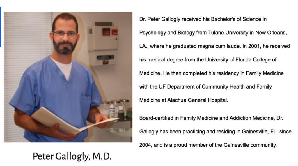 Dr Peter Gallogly