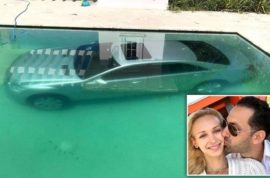 Guy Gentile banker dumps Kristina Kuchma, finds Mercedes in pool next morning