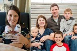 $182K: Katie Evans Santa Clarita mom of 6 killed by DUI driver (after visiting premature twins)