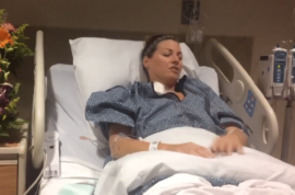 Natalie Vanderstay Las Vegas nurse treats own wounds, 'I wasn't ready to die'