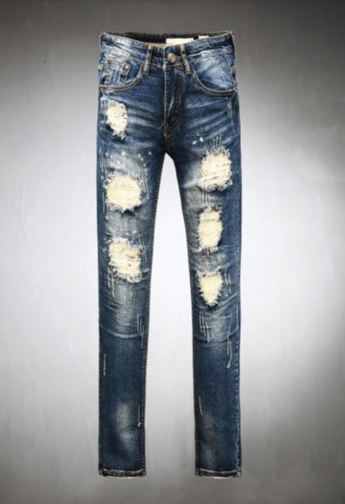 Distressed jeans mens