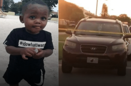 Neallie Junior Saxon III: Broward County woman beaten after fatally running over toddler