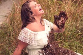 Why? Emily Mueller Ohio beekeeper mom who posed with 20K bees suffers stillborn