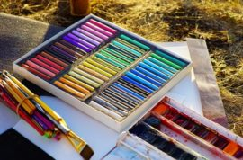 Painting with Oil Pastels a beginner's guide.