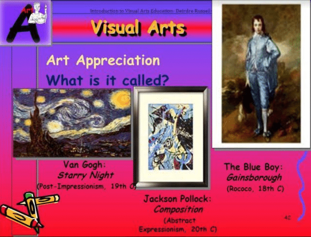 History of Visual Art Education