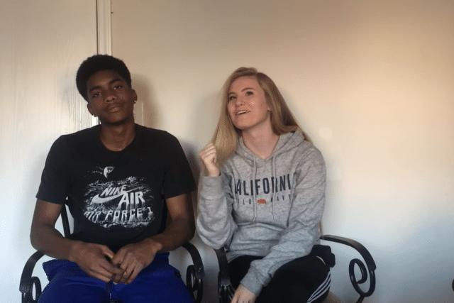 Madison Duke and Chris Hunter