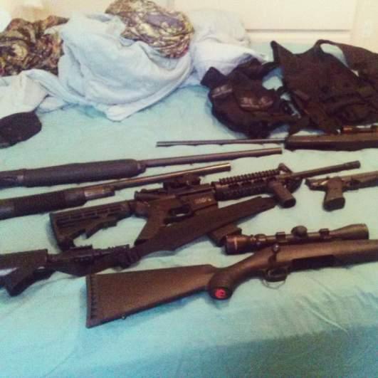 Nicholas Cruz AR15 rifle