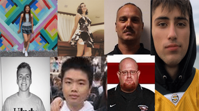 Parkland Florida school shooting victims
