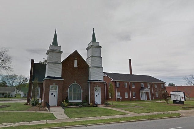 Woman found holding her eyeball outside SC church