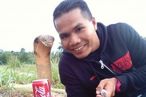 Malaysia's snake whisperer firefighter dies after cobra snake bite during snake catching operation